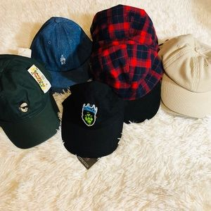 13 NWT men's hats Resell Lot